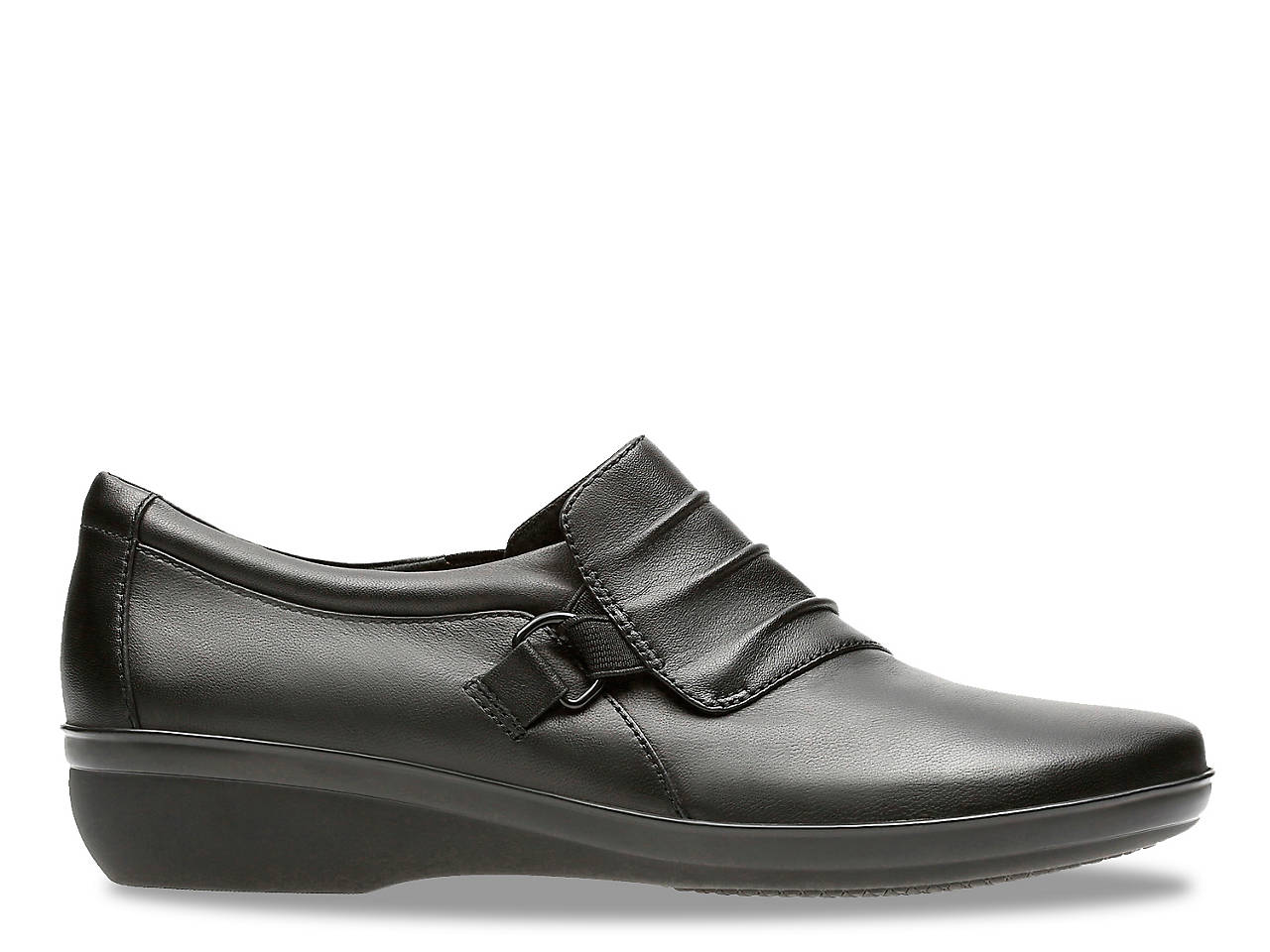 fd86a7d1d65 Clarks Everlay Heidi Wedge Slip-On Women s Shoes