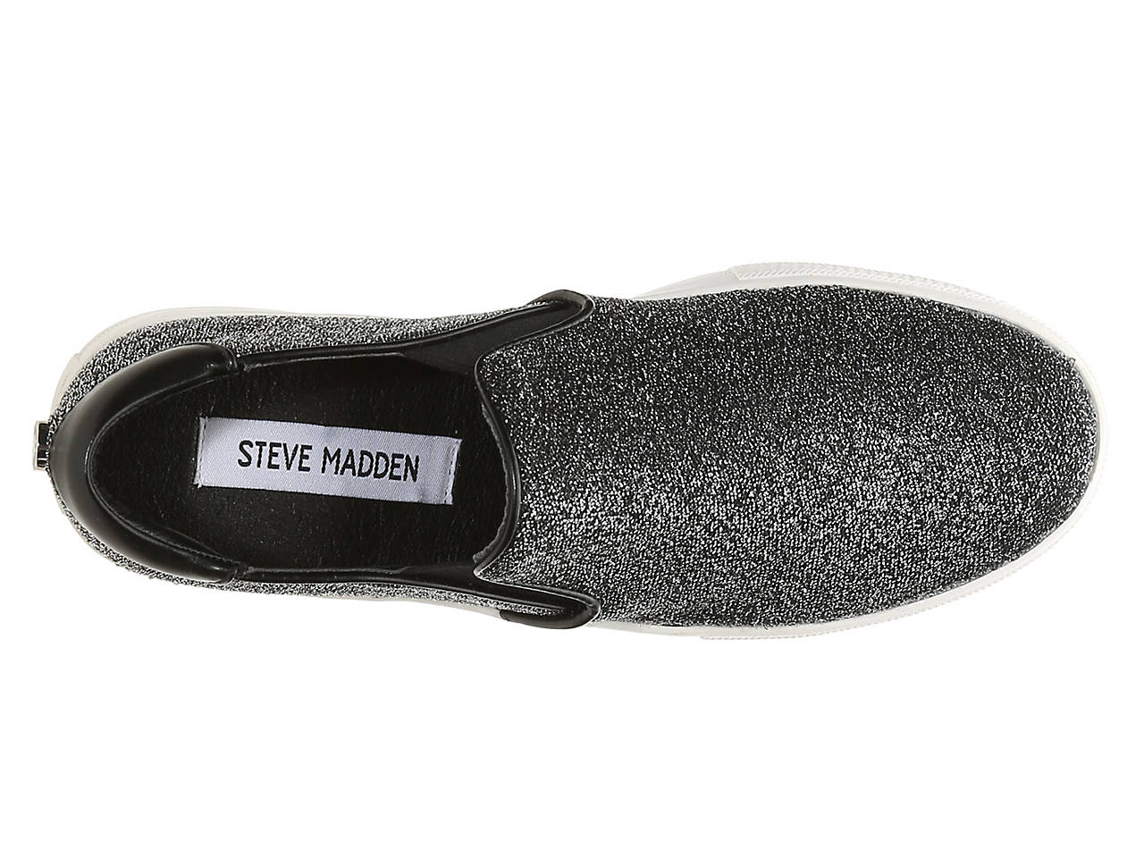 a8aa9122584 Steve Madden Noe Lurex Slip-On Sneaker Women s Shoes