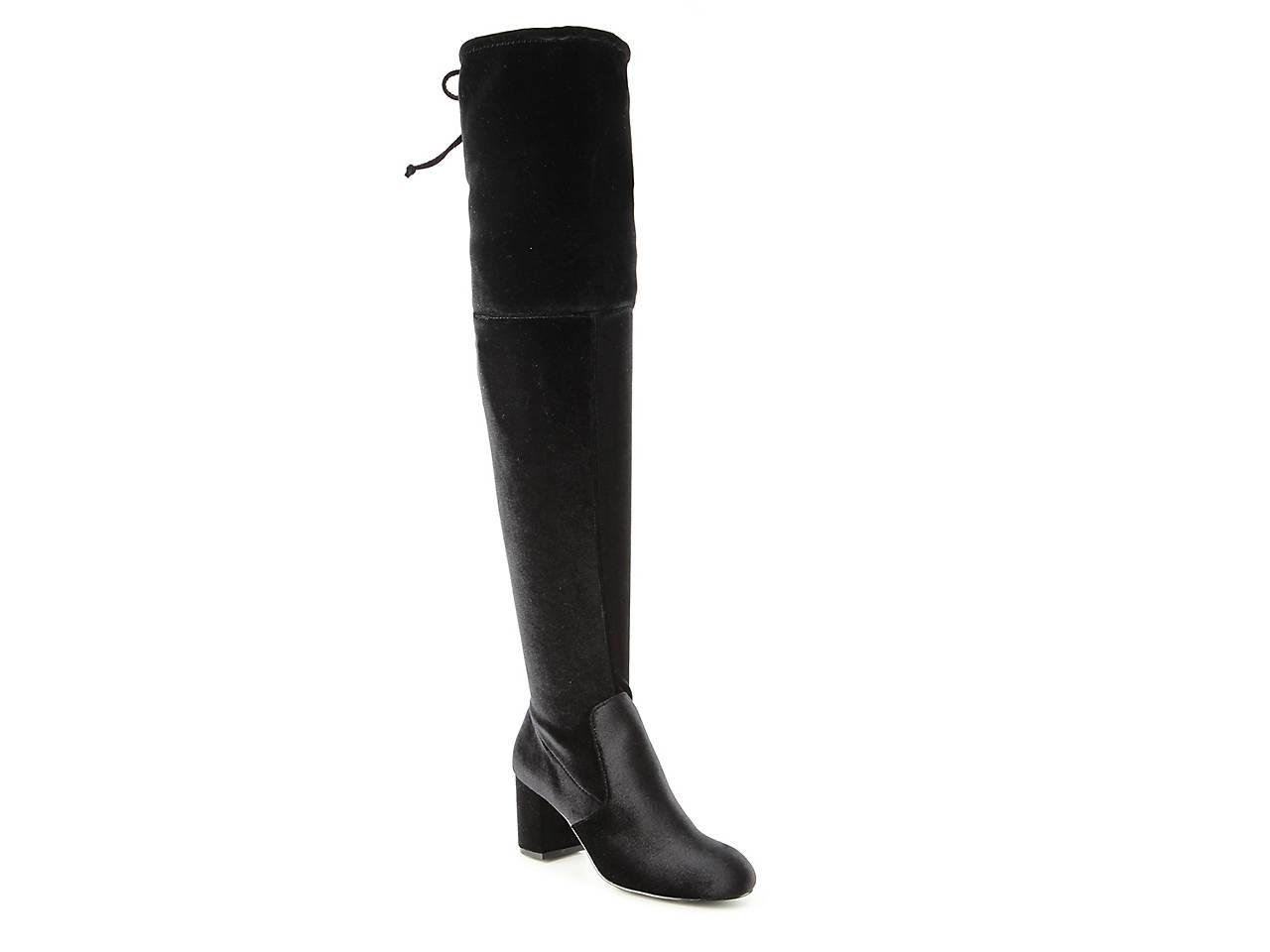 c262ccab27c14 Charles by Charles David Owen Velvet Over The Knee Boot Women s ...