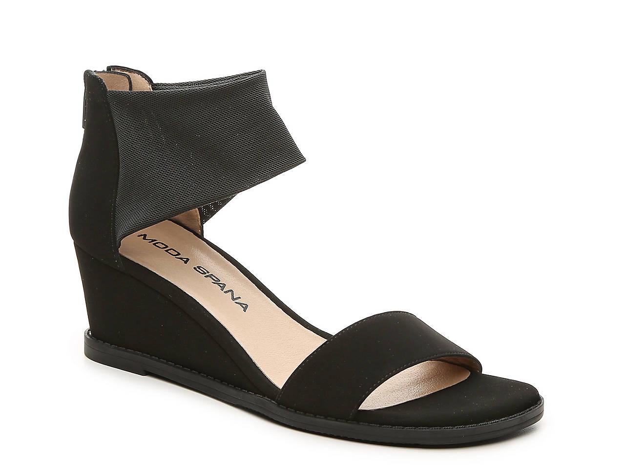 5be54182131b Moda Spana Riley Wedge Sandal Women s Shoes