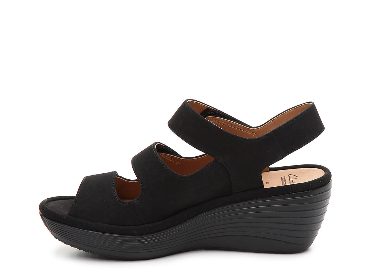 cae8d8d7a6db Clarks Reedly Juno Wedge Sandal Women s Shoes