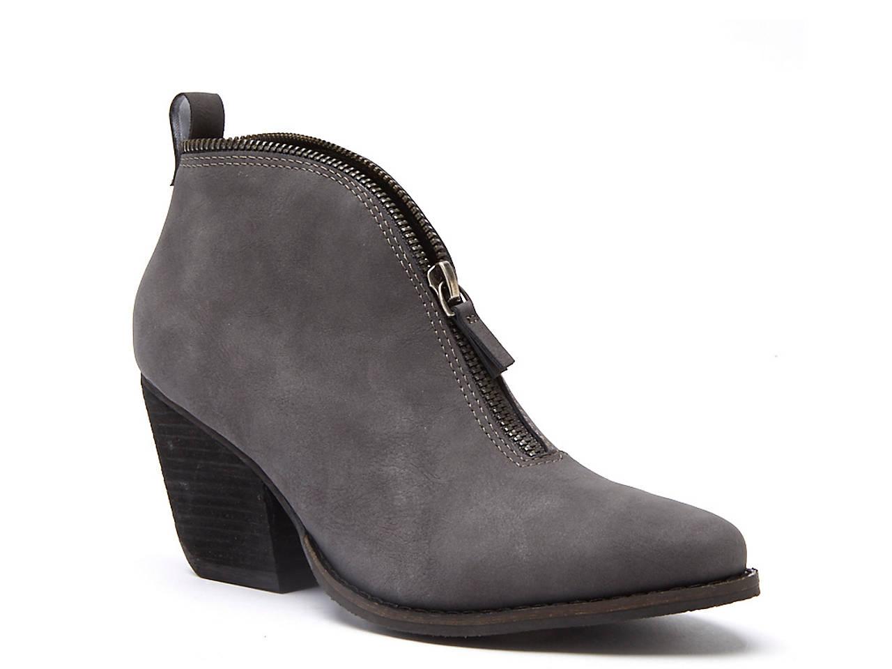 Women's Leather Bootie
