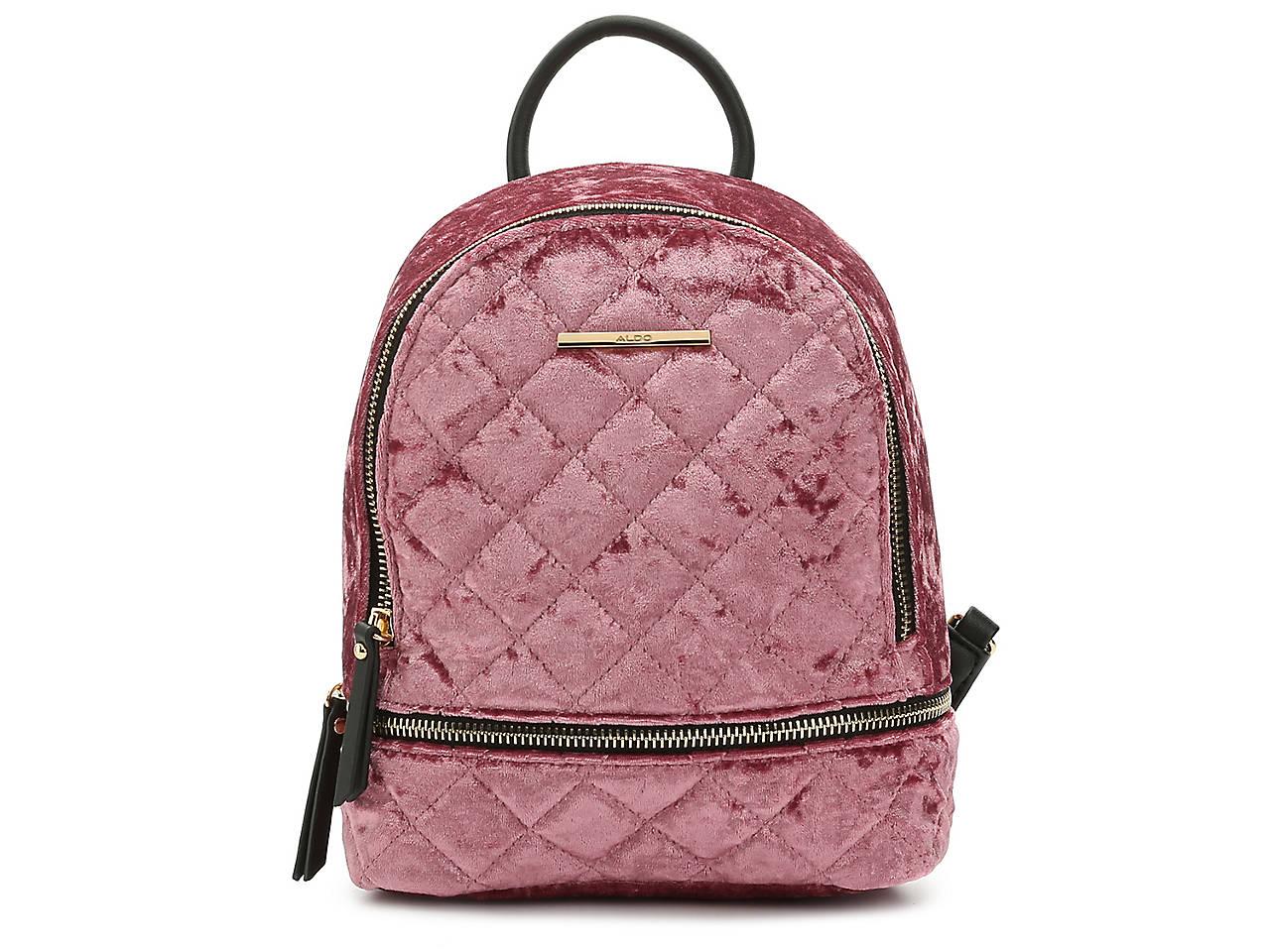 515623b5008a5 Aldo Edroiana Velvet Mini Backpack Women s Handbags   Accessories