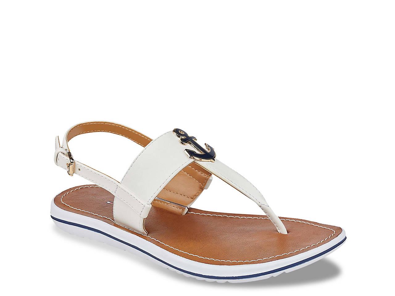 d971f2487cd Tommy Hilfiger Galiant Flat Sandal Men s Shoes