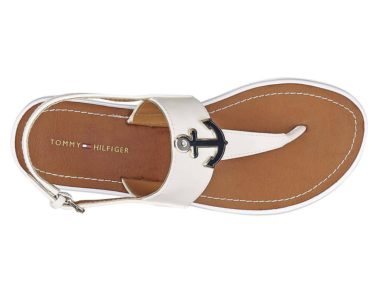 1cb2b0f829f730 Tommy Hilfiger Galiant Flat Sandal Women s Shoes