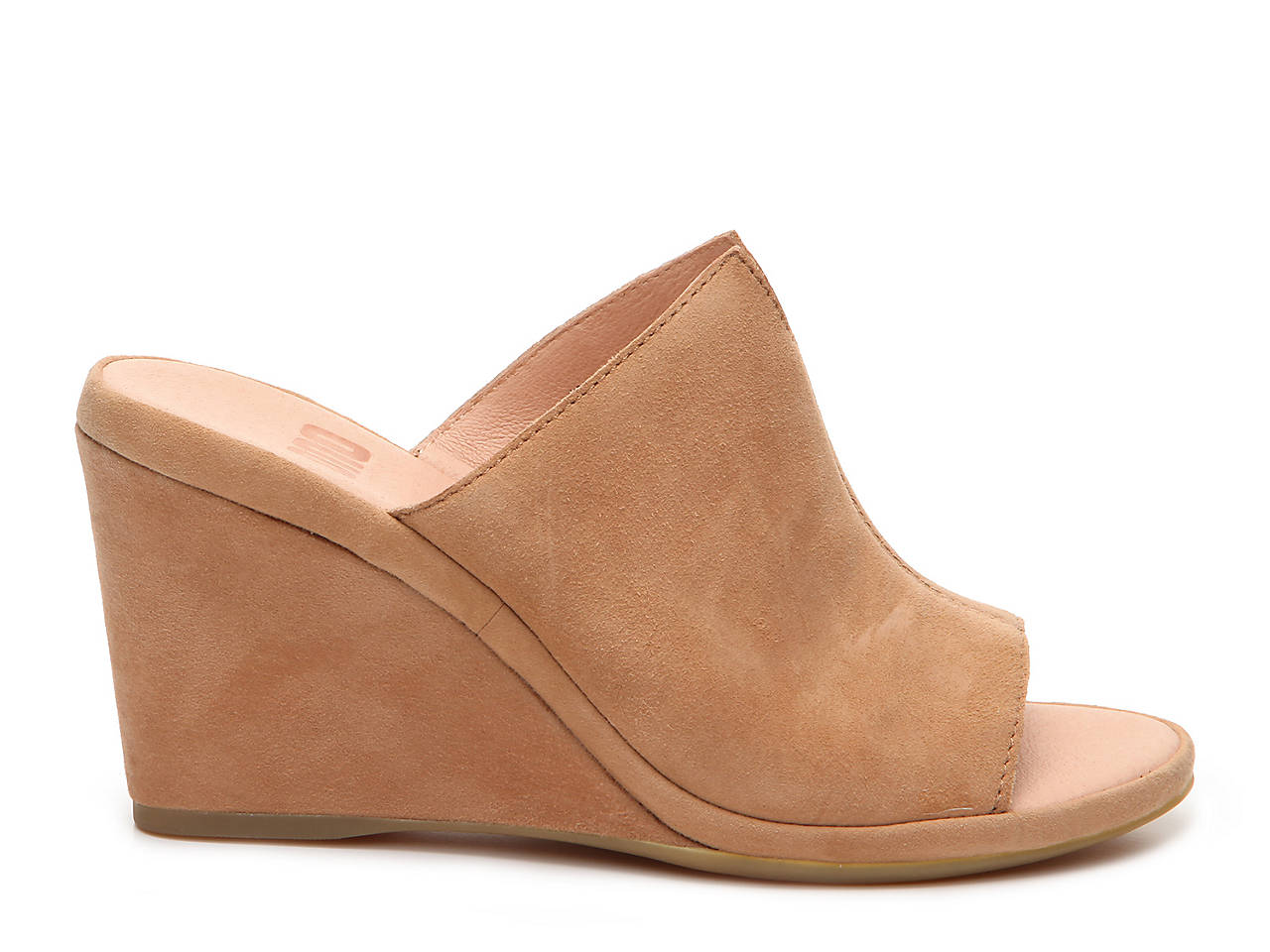 ONO Hannah Suede Slip-On Wedge Mules R38HW