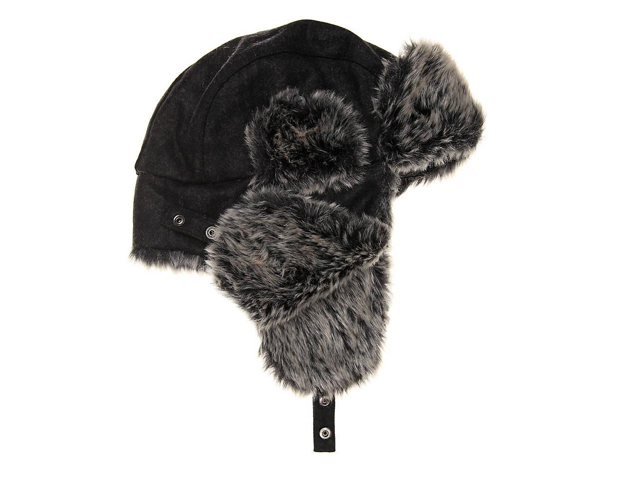 6269998db0716a Dockers Faux Fur Trapper Hat Men's Handbags & Accessories | DSW