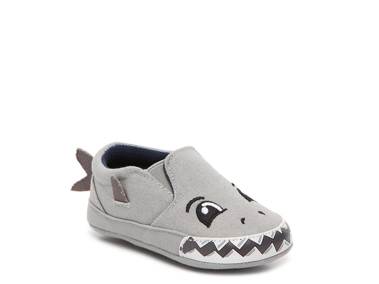 1ba2759d5ad Max + Jake Shane Shark Infant Crib Shoe Kids Shoes