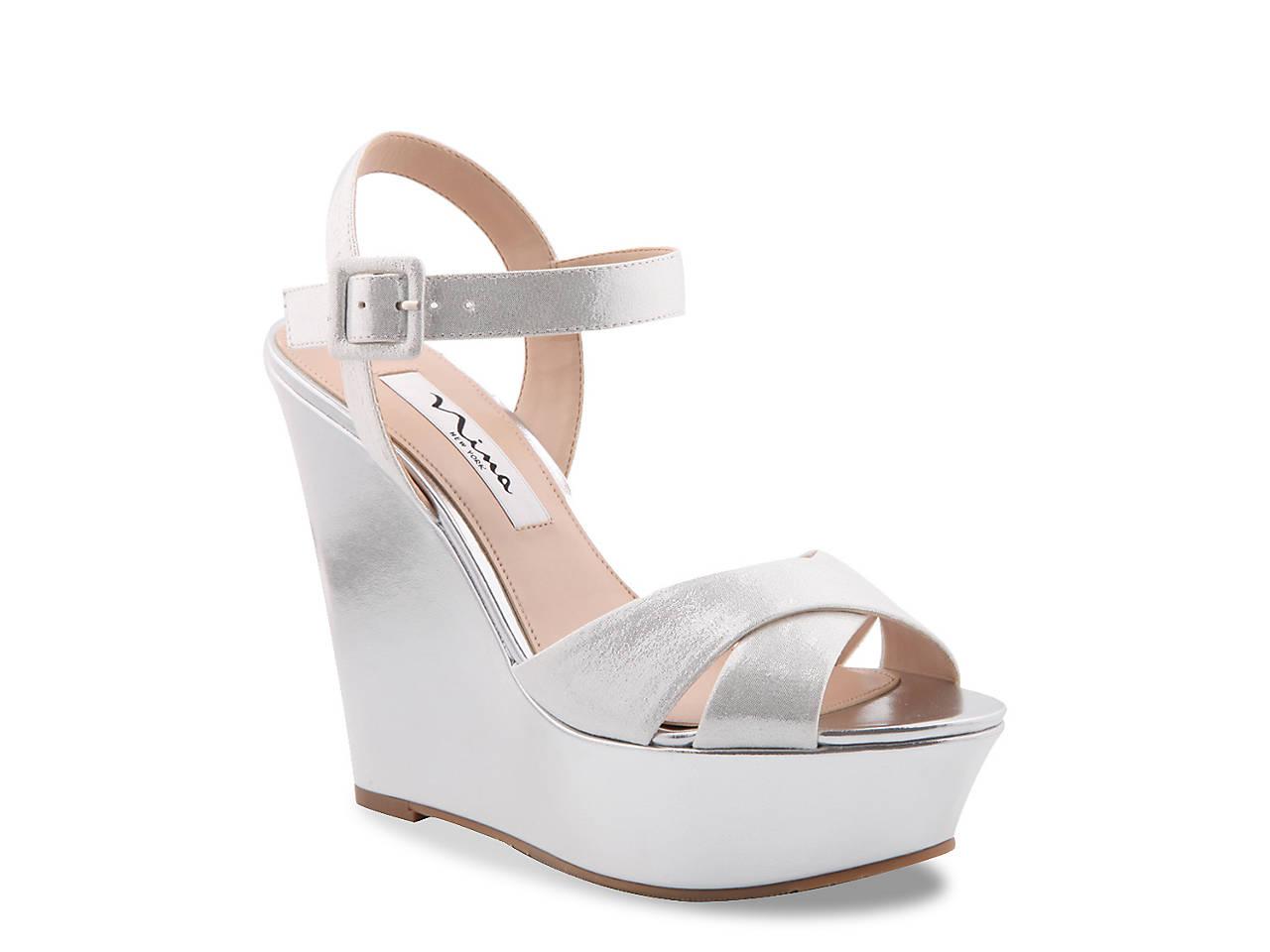 86420f4afd2 Nina Jinjer Wedge Sandal Women s Shoes