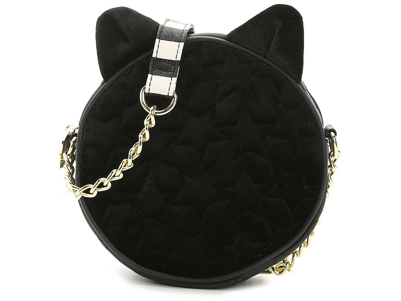 Velvet Cat Crossbody Bag by Luv Betsey