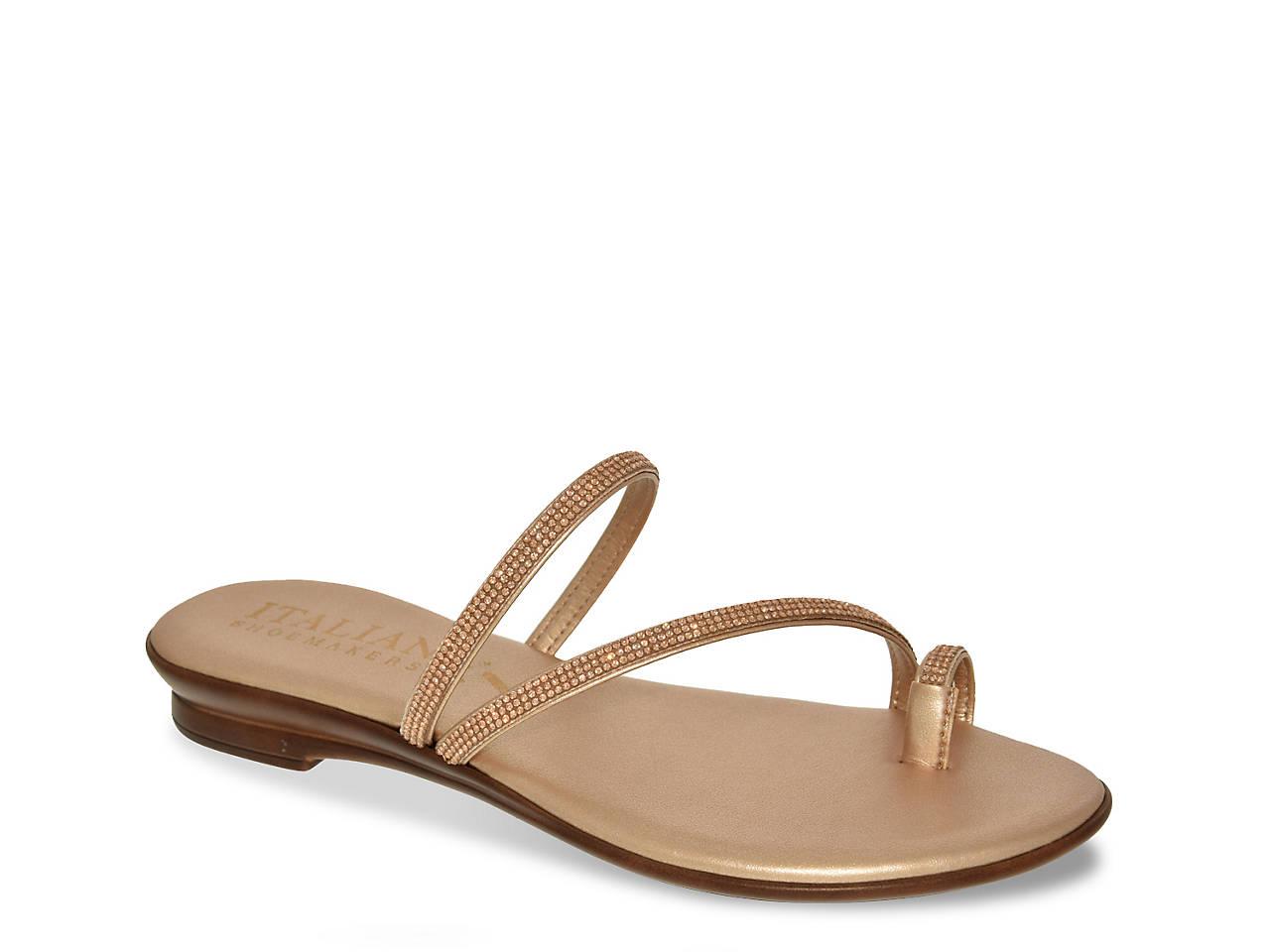 b1293c4b38 Italian Shoemakers Jewel Flat Sandal Women's Shoes | DSW
