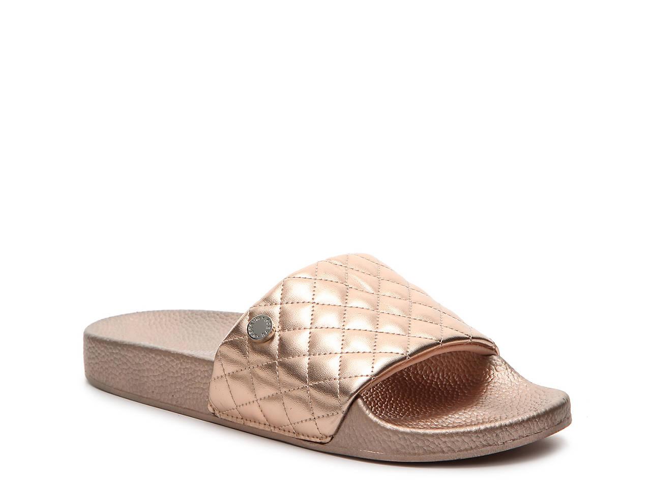 6a2bab322a4 Steve Madden Qool Slide Sandal Women s Shoes