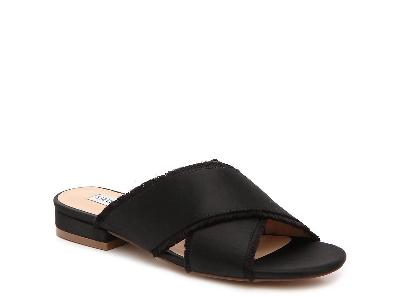 3815be4a60f Steve Madden Syruss Flat Sandal Women s Shoes