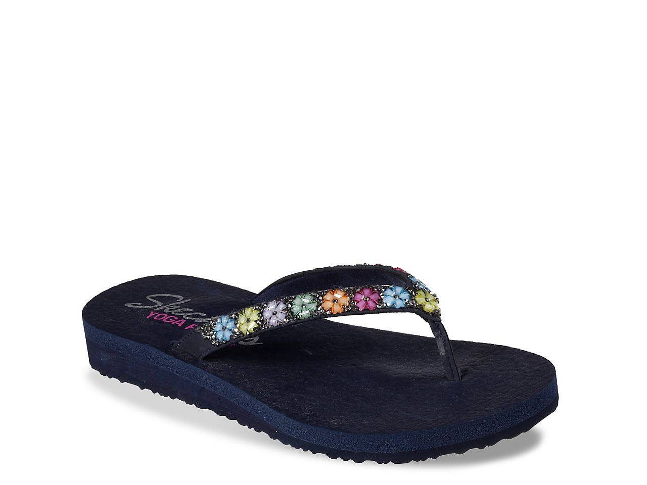 4a2017cd7 Skechers Daisy Delight Flip Flop Women s Shoes