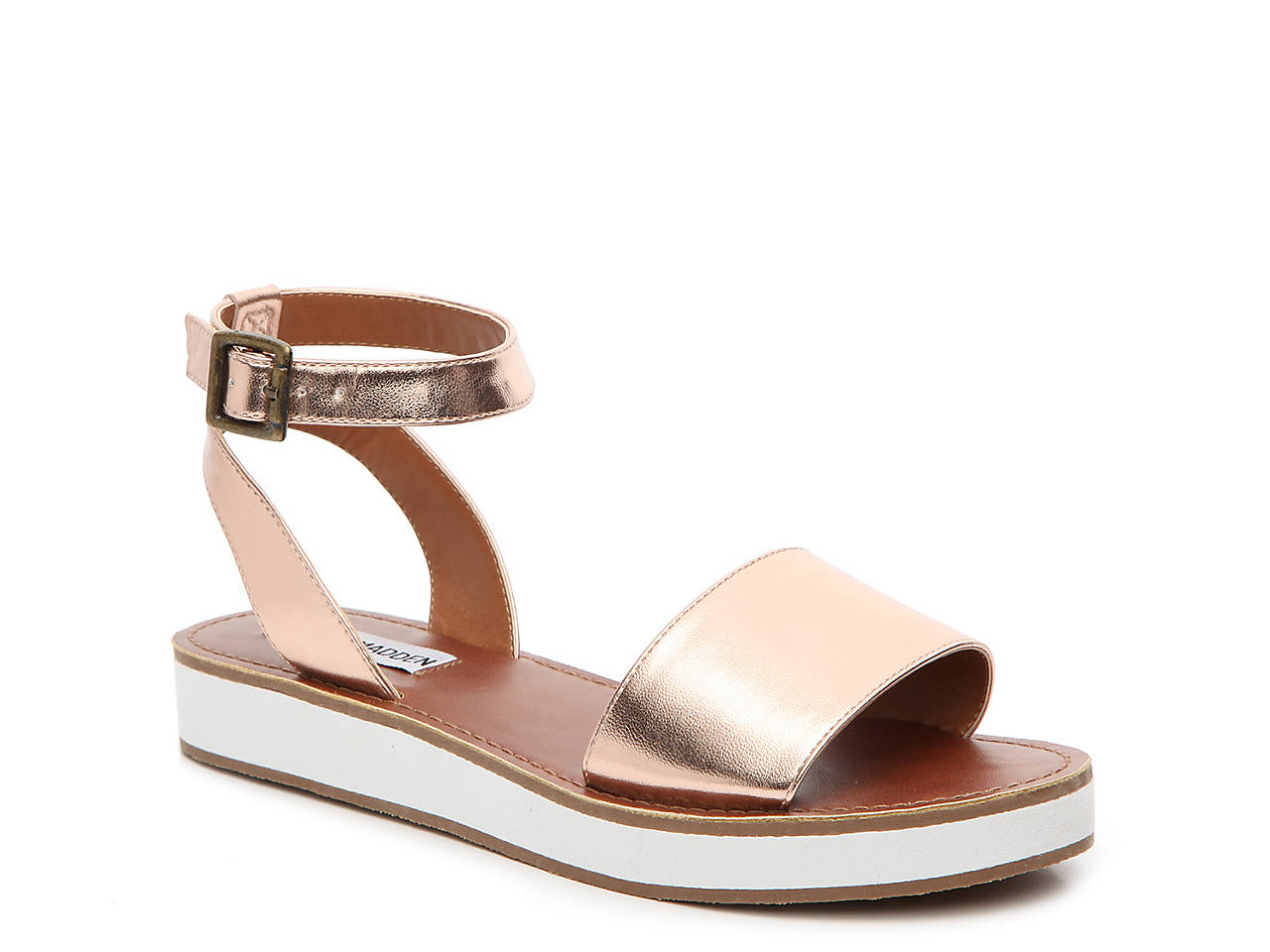 18857168a38 Steve Madden Miley Wedge Sandal Women s Shoes