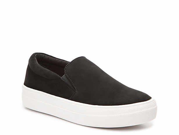 75abbce2d89a Black Slip-On Shoes