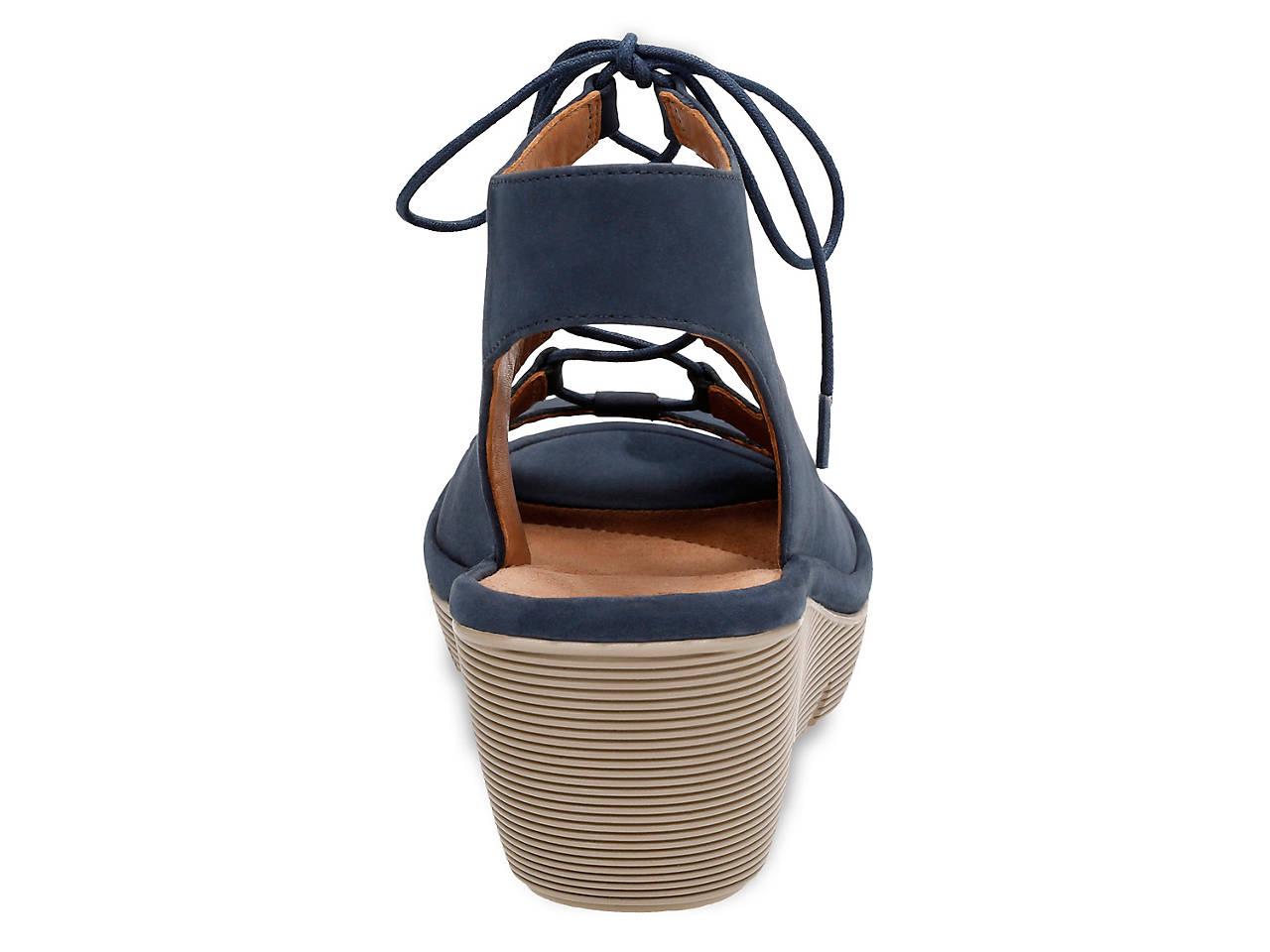 56703e15b6b Clarks Clarene Grace Wedge Sandal Women s Shoes