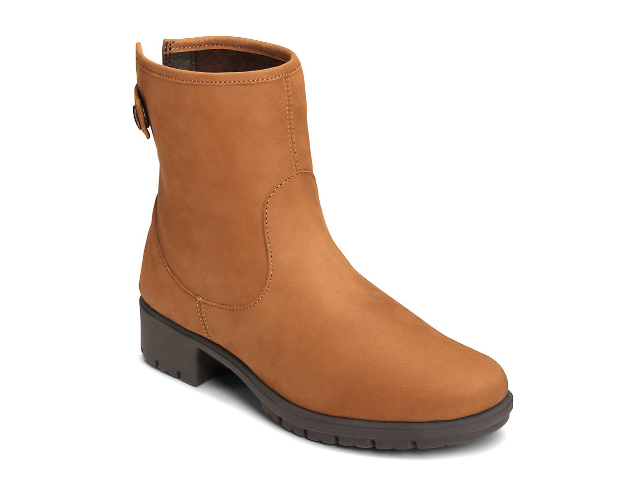 Aerosoles Just Kidding Ankle Boot(Women's) -Dark Tan Nubuck Sale Deals VT5KAtd