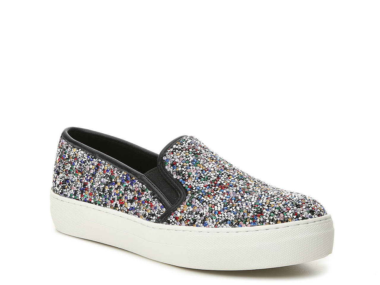 226073a844e Steve Madden Gracious Platform Slip-On Sneaker Women s Shoes