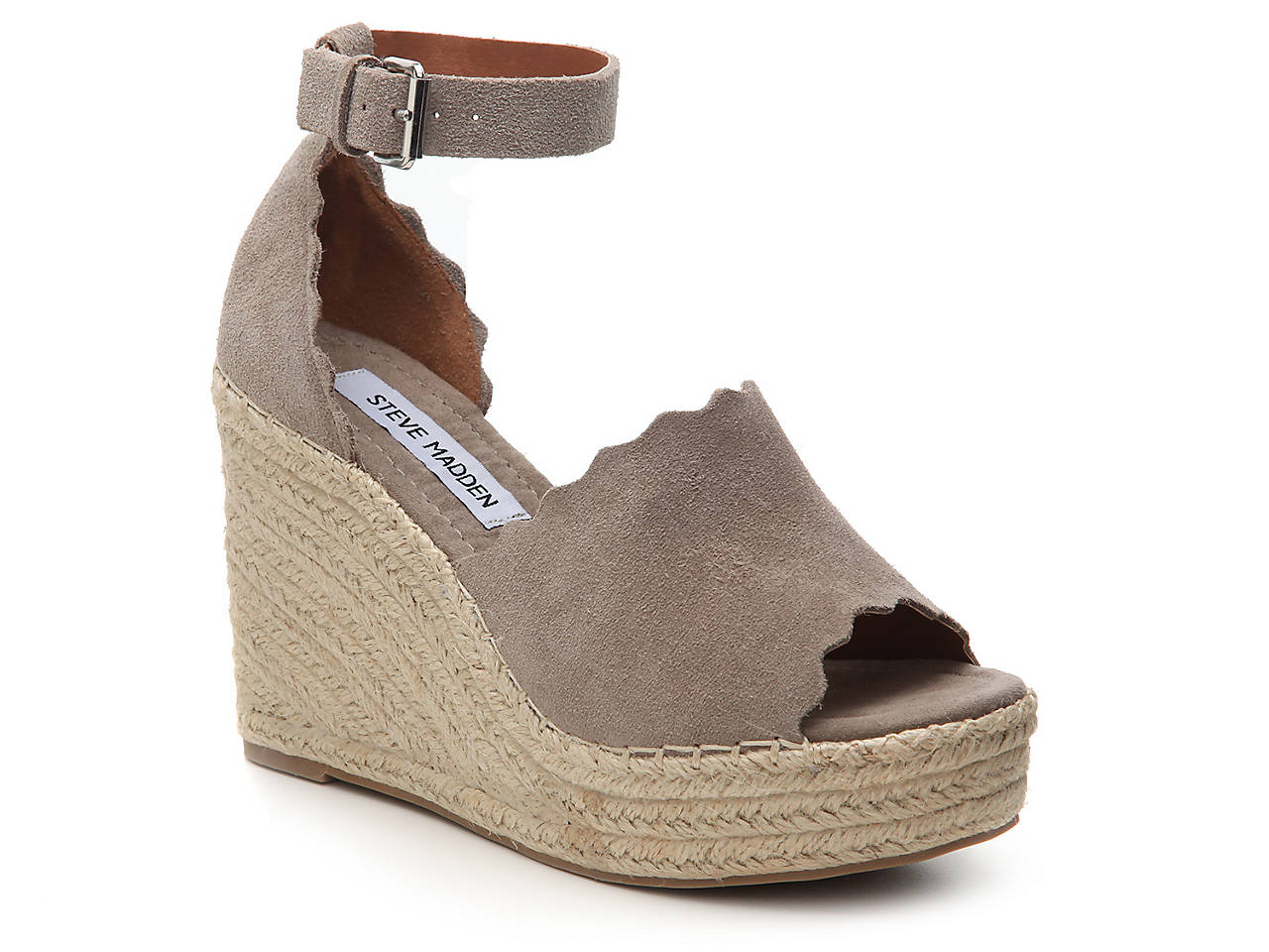 dbb7b19ef5d Steve Madden Reegin Espadrille Wedge Sandal Women s Shoes