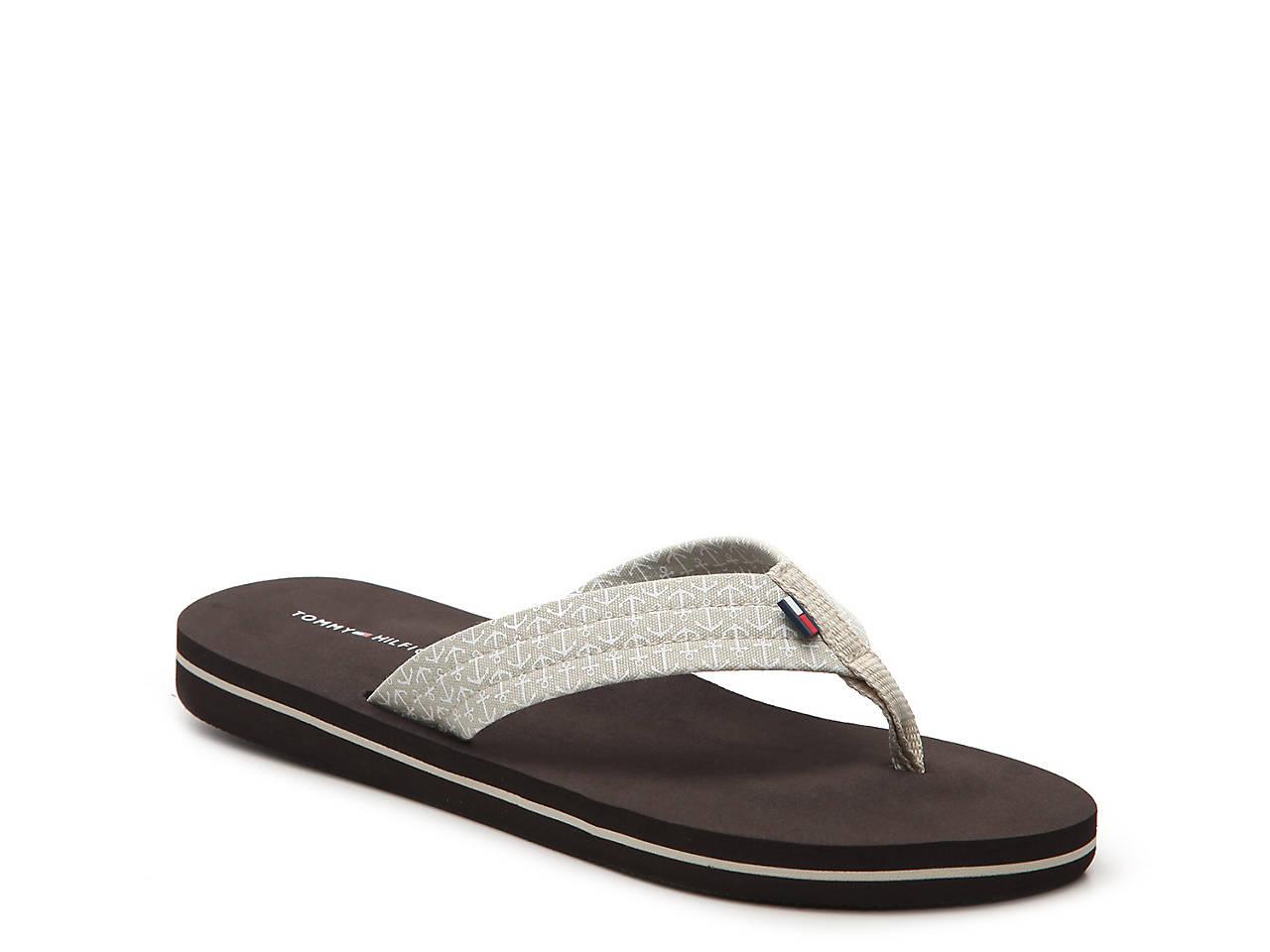 31885d2dd14 Tommy Hilfiger Ceaweed Flip Flop Men s Shoes
