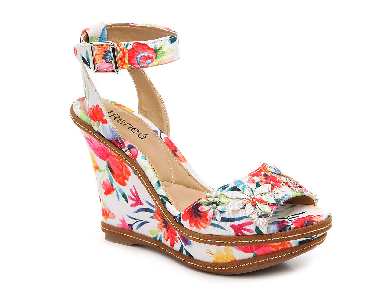 a99cbf721dcc J. Renee Alawna Wedge Sandal Women s Shoes
