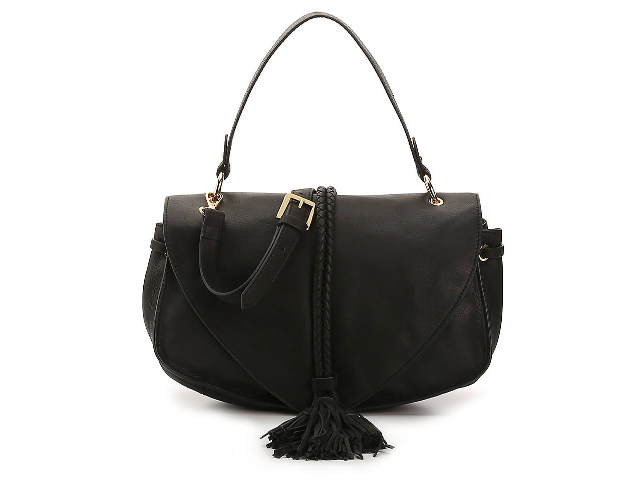 Delancy Leather Shoulder Bag by Dolce Vita