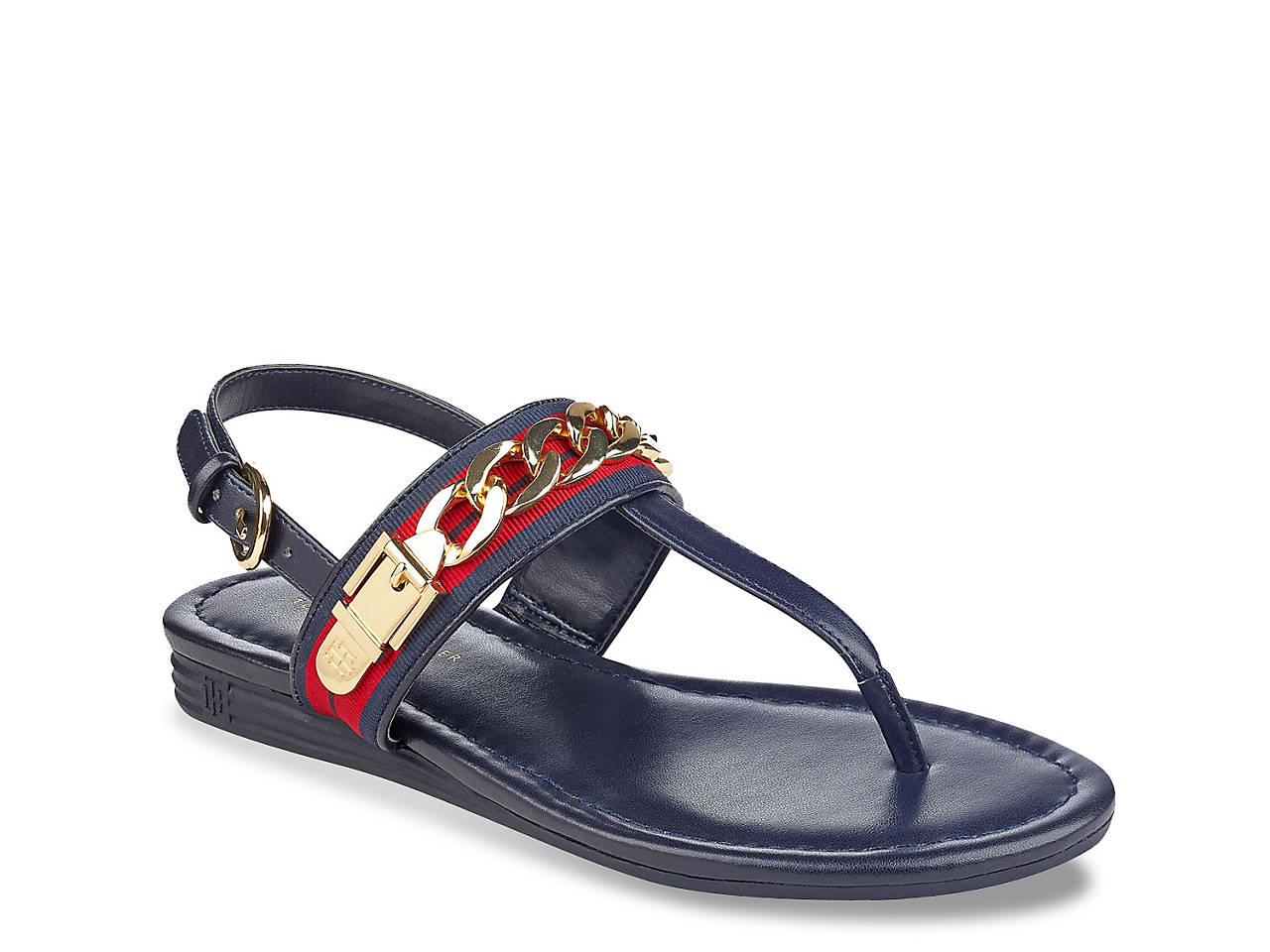 1e771258ae9d Tommy Hilfiger Hakim Flat Sandal Women s Shoes