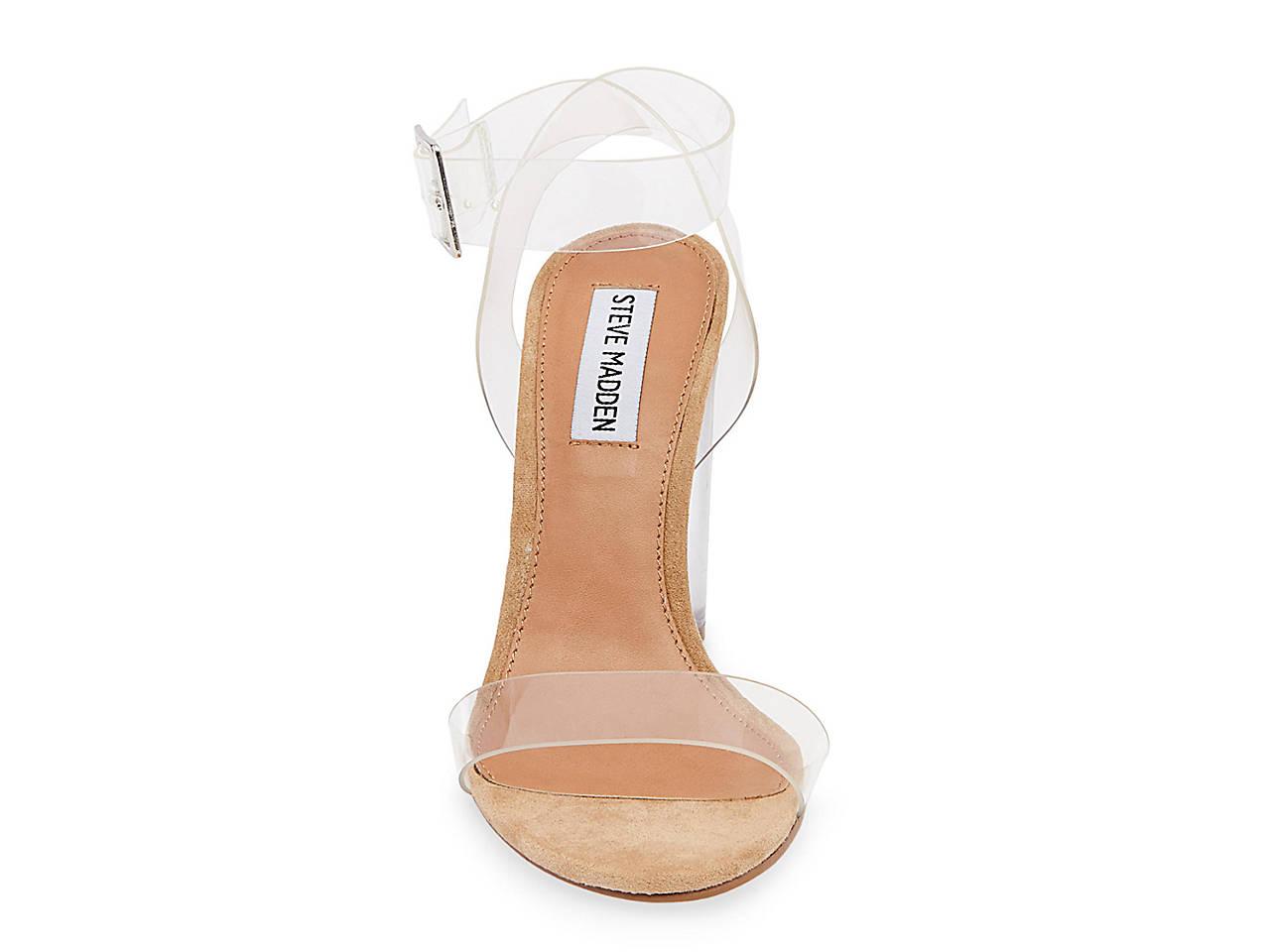 1ea298b7f46 Steve Madden Clearer Sandal Women s Shoes