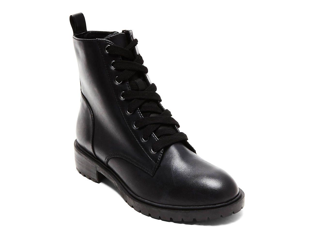 010018dd909 Steve Madden Officer Combat Boot Women s Shoes
