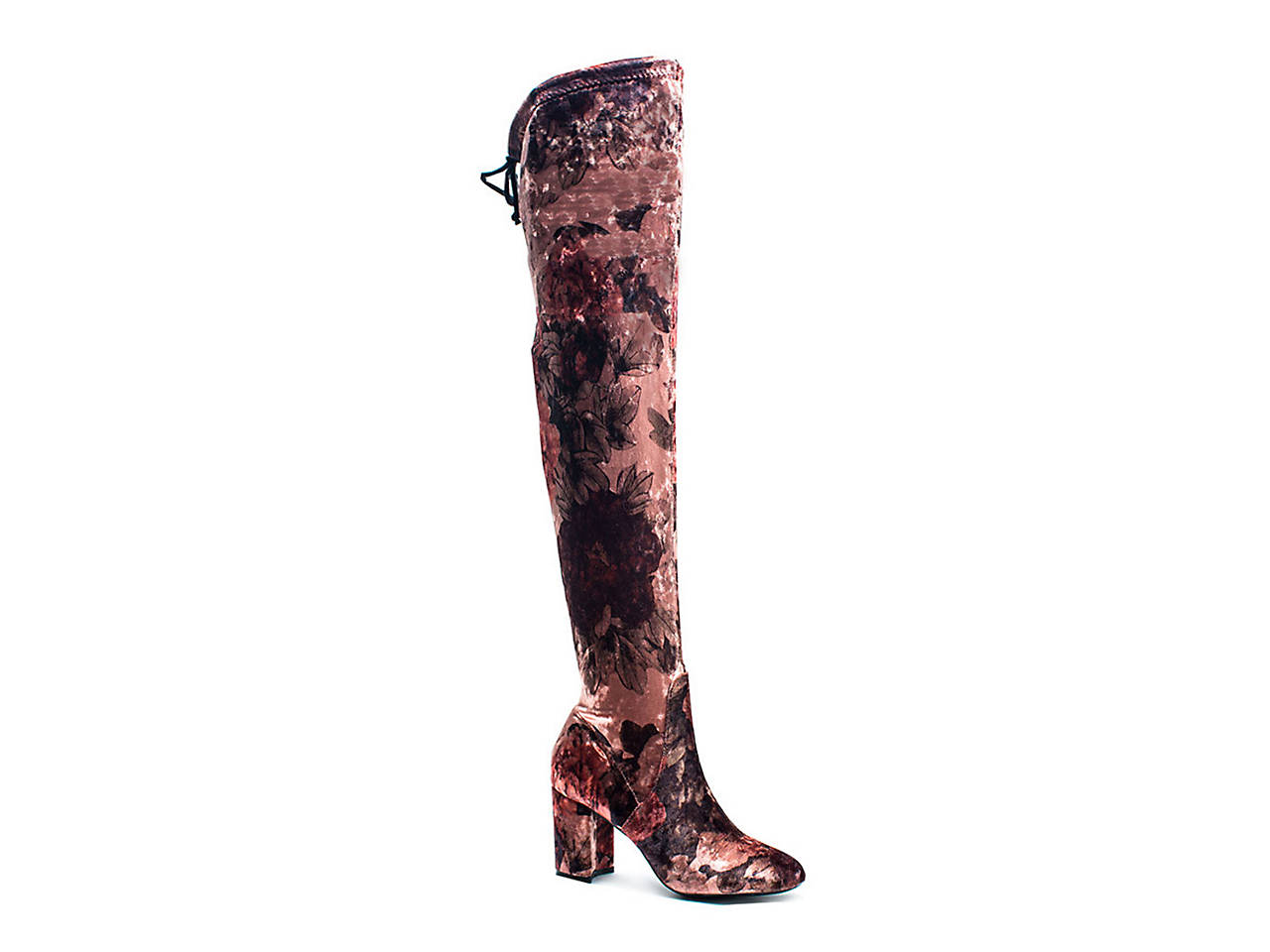 027a797e4f59 GC Shoes Lotus Velvet Over The Knee Boot Women s Shoes