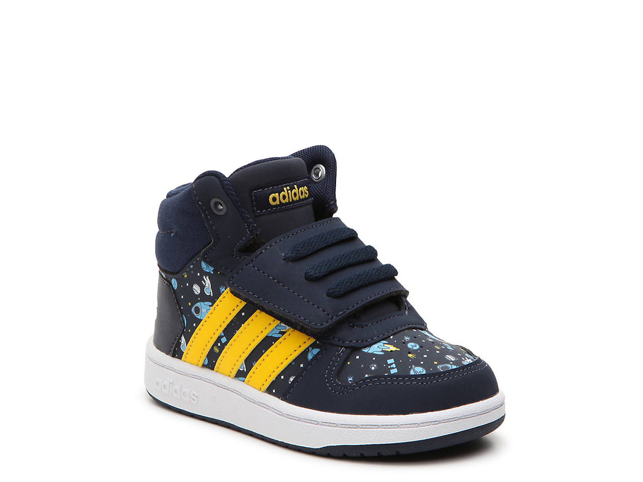 adidas Hoops Mid 2 Toddler High-Top Sneaker Kids Shoes  51d034a224279