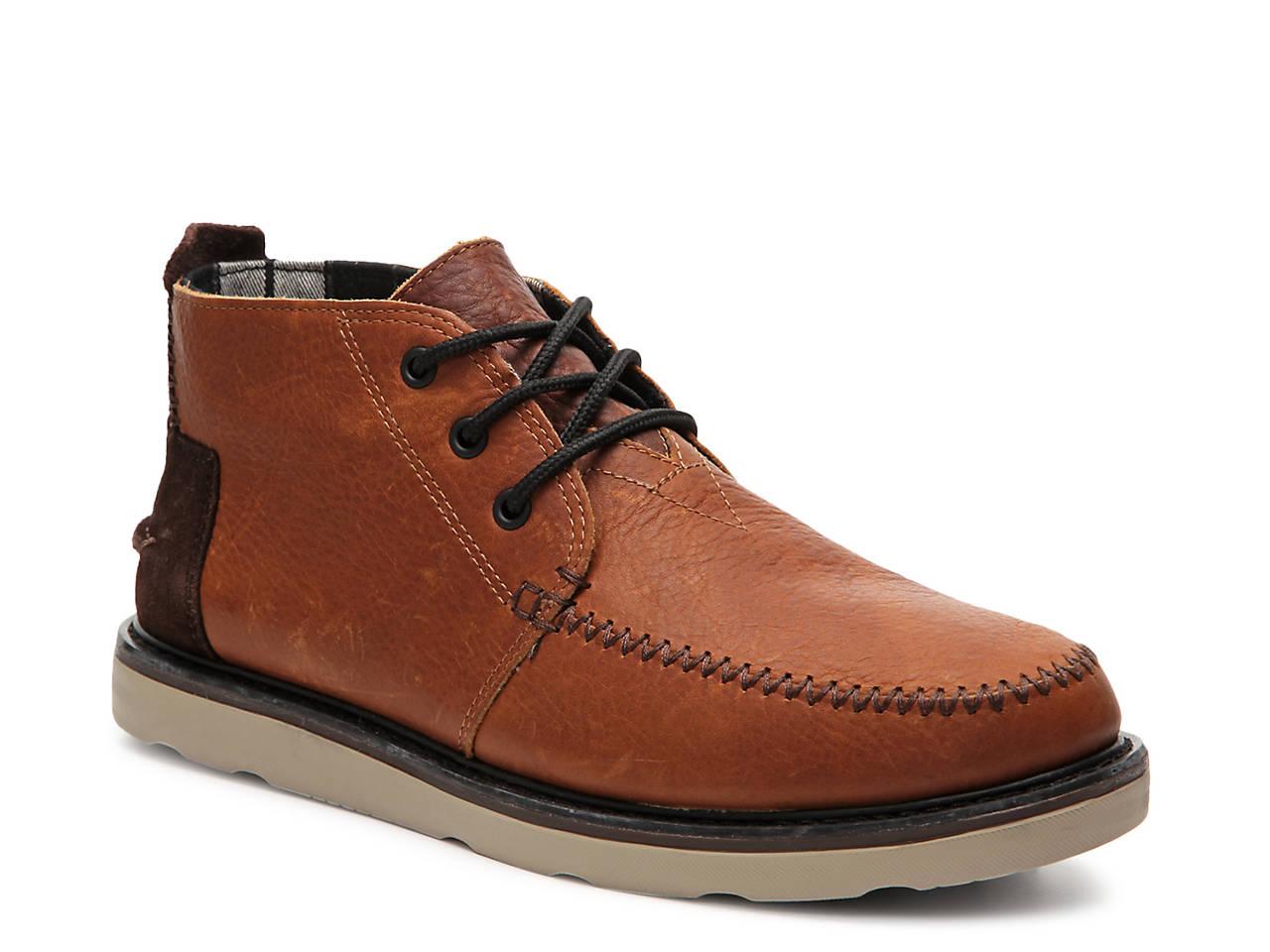98457b64aa0 TOMS Lea Chukka Boot Men's Shoes | DSW