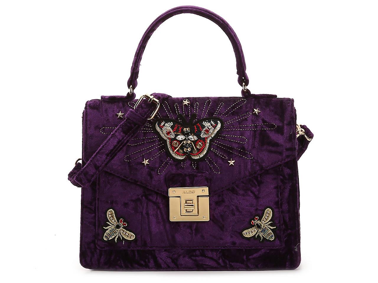50a708baa03 Aldo Durosty Velvet Satchel Women s Handbags   Accessories