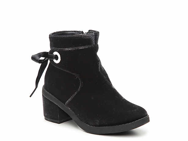 Fawn Dow Toddler  Youth Velvet Boot Michael Michael Kors