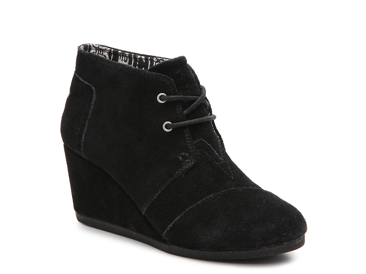 a74b288aeb1 TOMS Desert Wedge Bootie Women s Shoes
