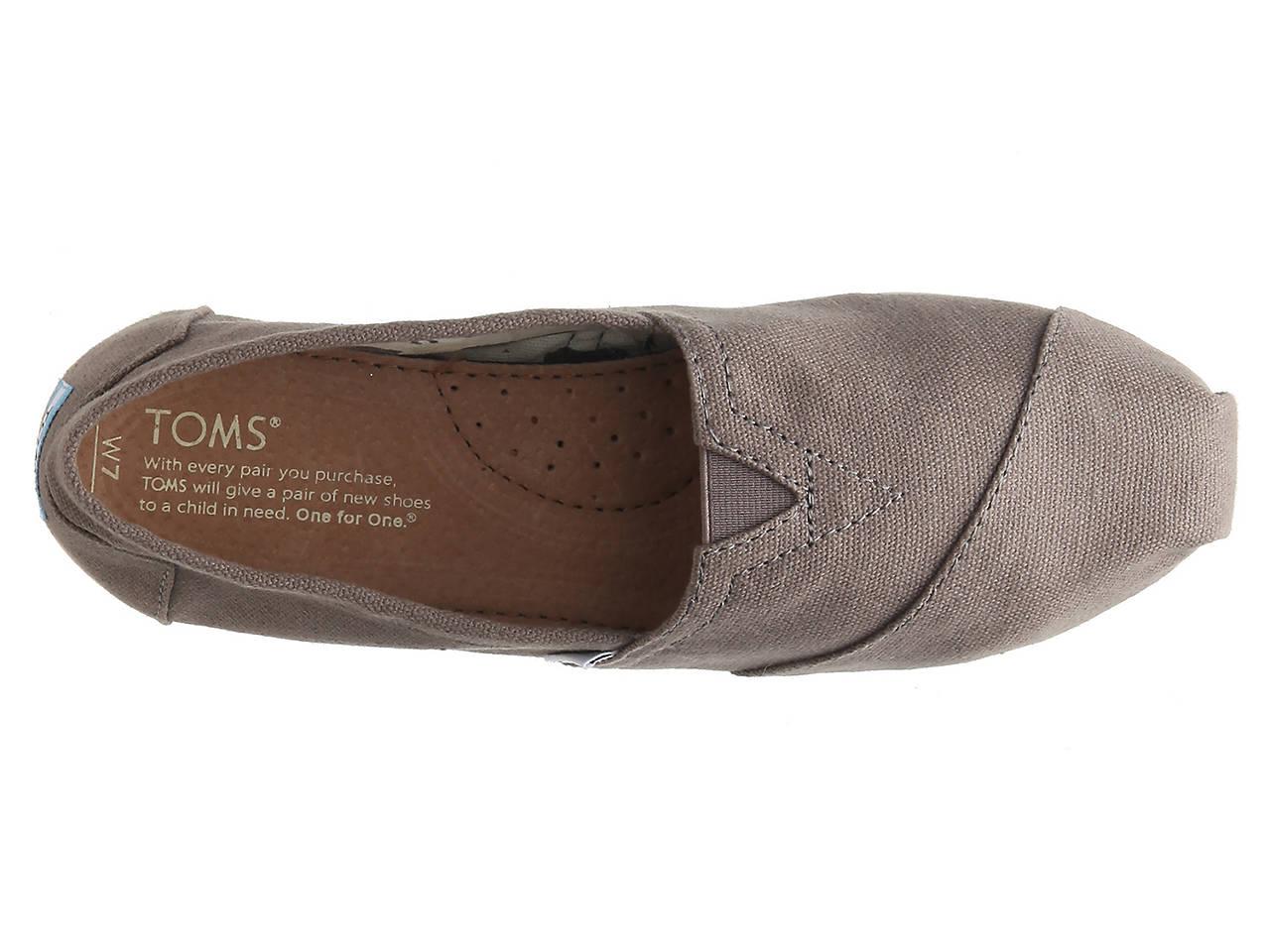 toms alpargata slip on women s shoes dsw