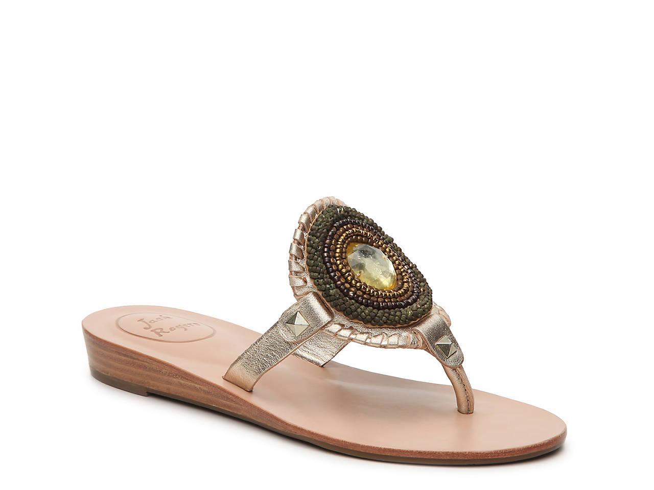 118dae7c775f Jack Rogers Gisele Flat Sandal Women s Shoes