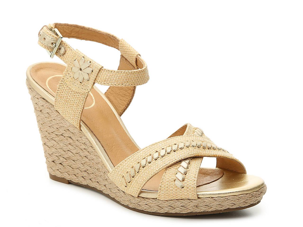 c4f81c8100 Jack Rogers Abbey Wedge Sandal Women's Shoes   DSW