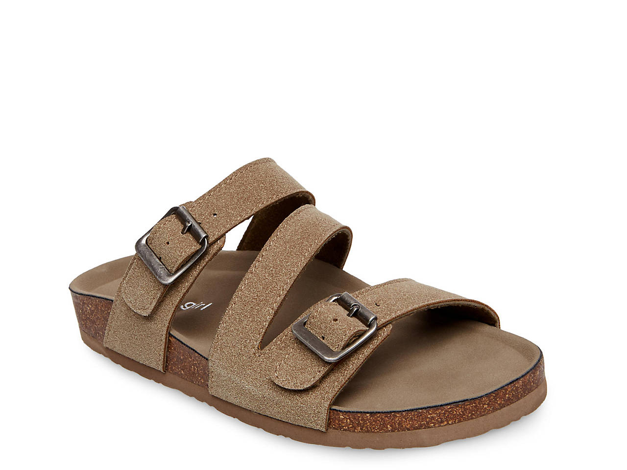 Women's Madden Girl Brinsley Footbed Sandals clearance perfect xgGKSJl