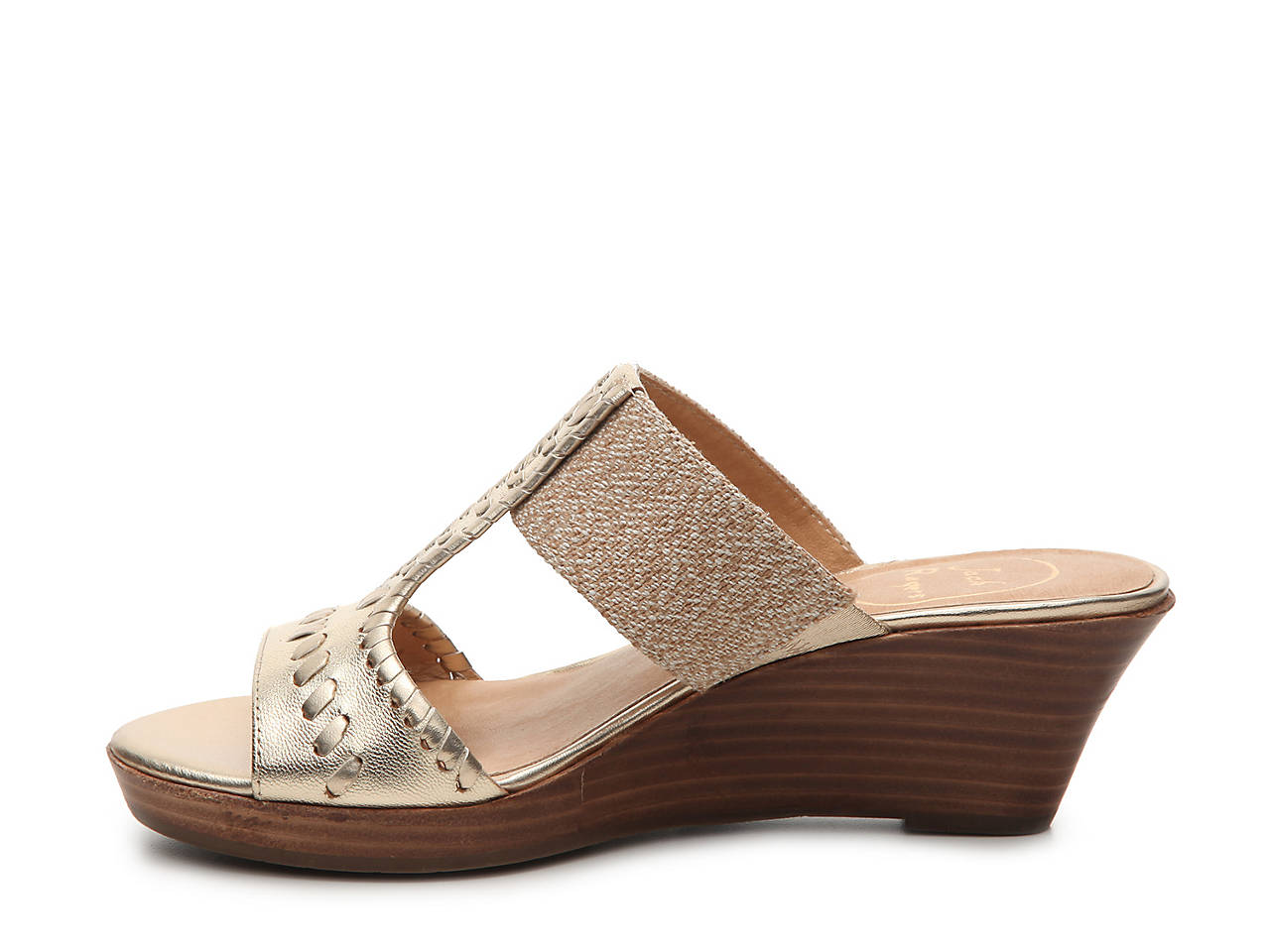 ee35c29624b Jack Rogers Nora Wedge Sandal Women s Shoes