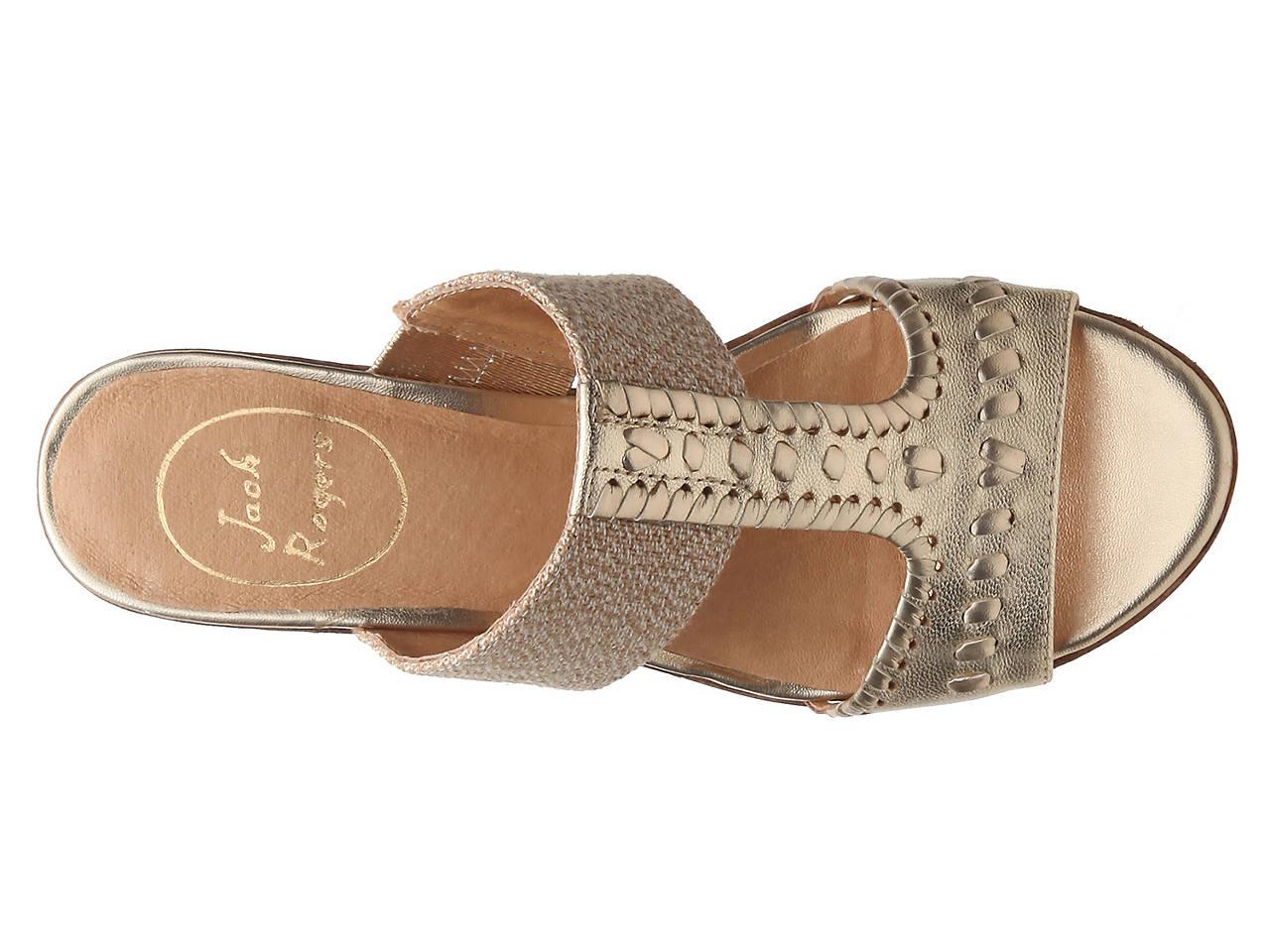 9ac4979cfa3 Jack Rogers Nora Wedge Sandal Women s Shoes