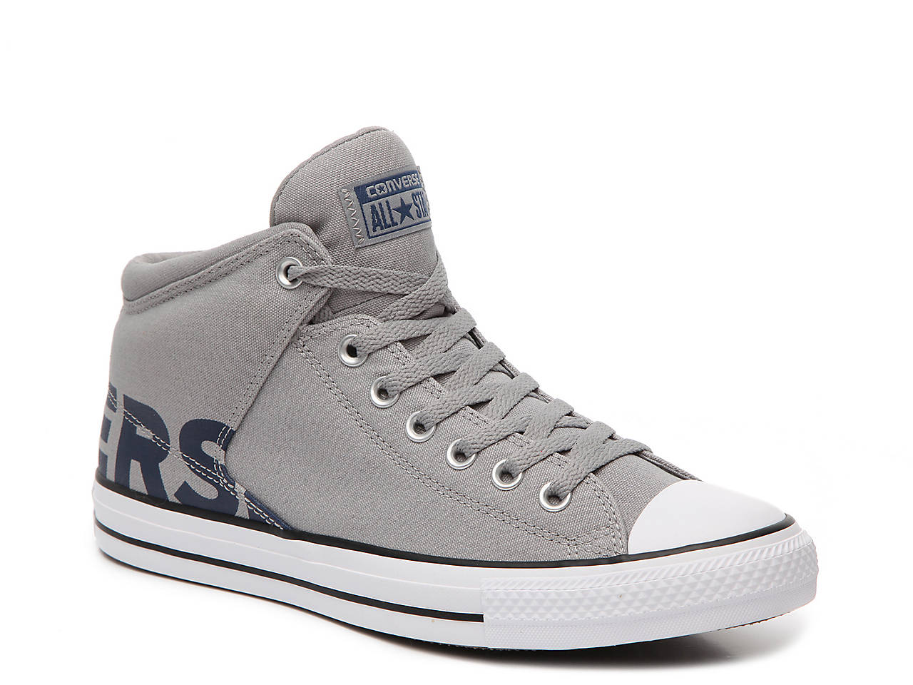 Converse Chuck Taylor All Star Word Mid Top Sneakers Men S Shoes Dsw
