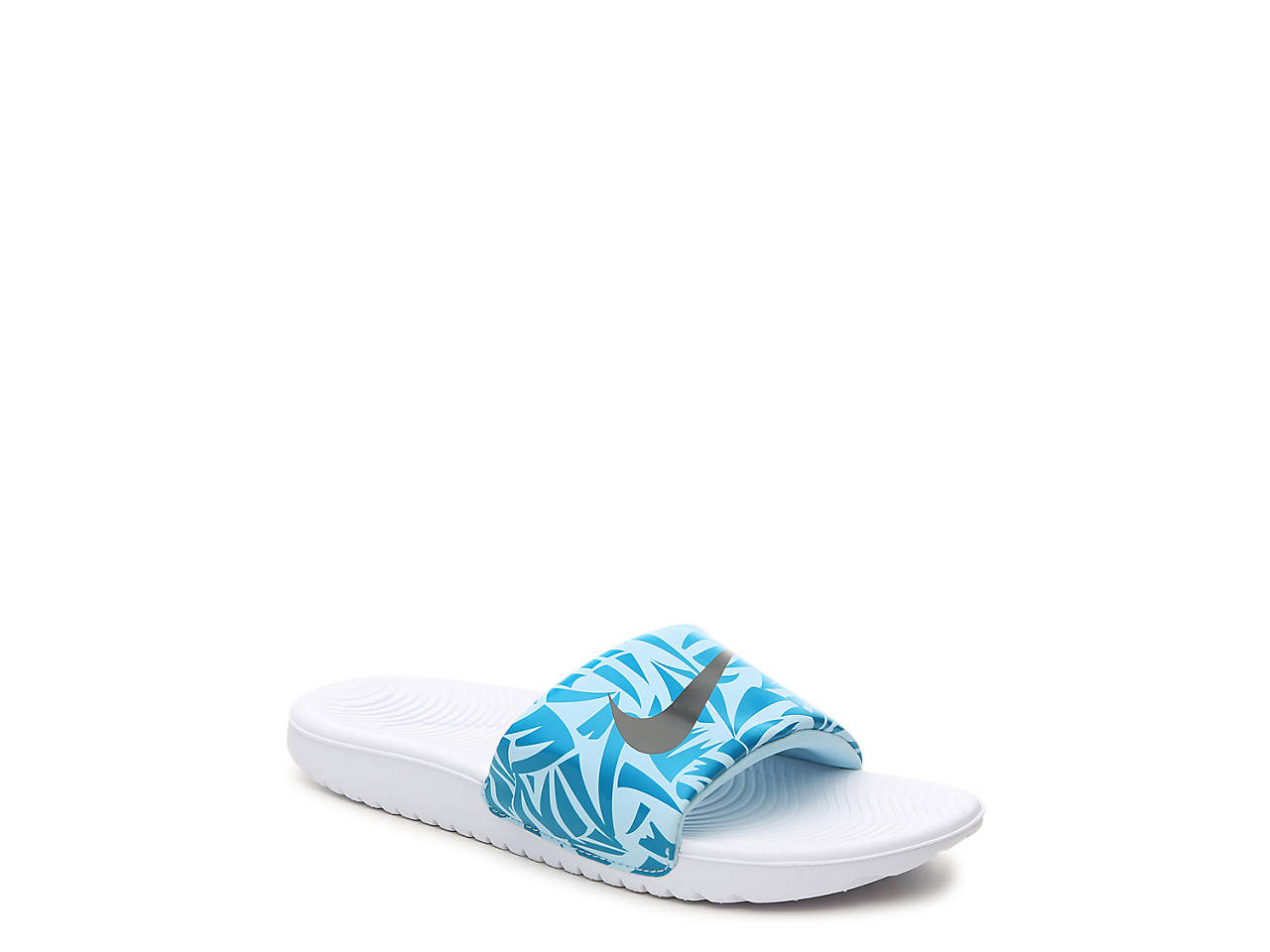 Nike Kawa Toddler   Youth Slide Sandal Kids Shoes
