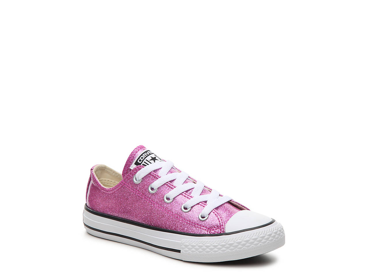 c12144d16c3d Converse Chuck Taylor All Star Glitter Toddler   Youth Sneaker Kids ...