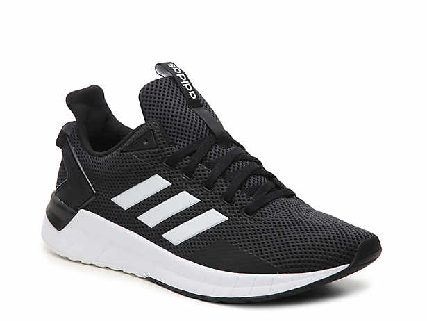 black adidas correndo atletico dsw