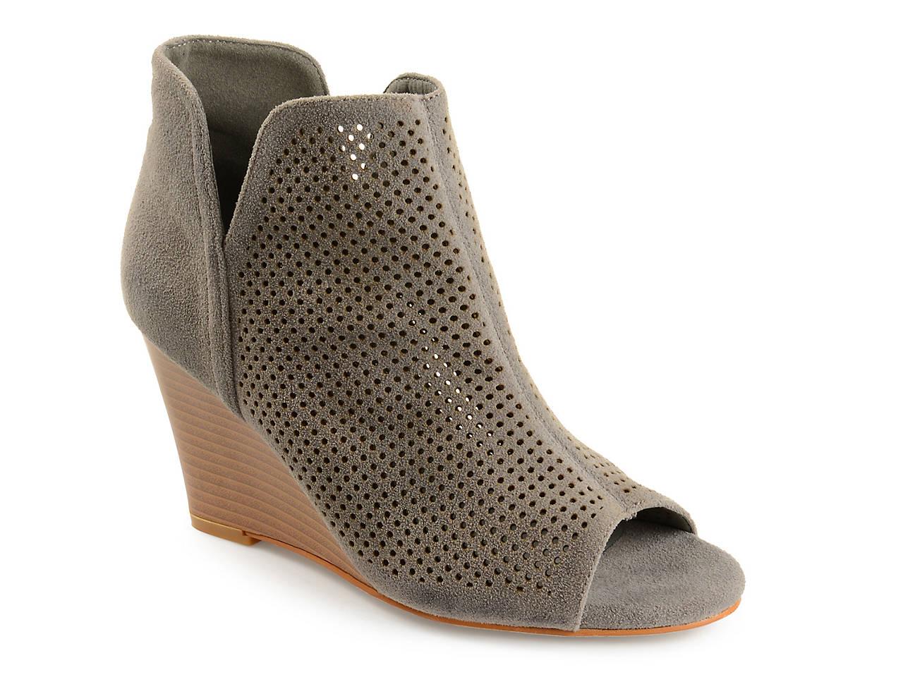 81f253d5548b Journee Collection Andies Wedge Bootie Women s Shoes