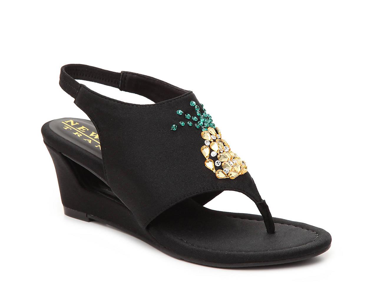 d0271dd16 New York Transit Fancy Fruit Wedge Sandal Women s Shoes