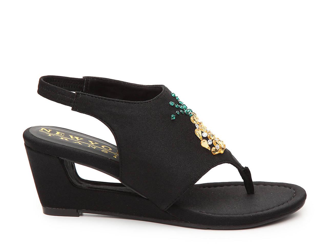 New York Transit Fancy Fruit Wedge Sandal Women s Shoes  234a681d1