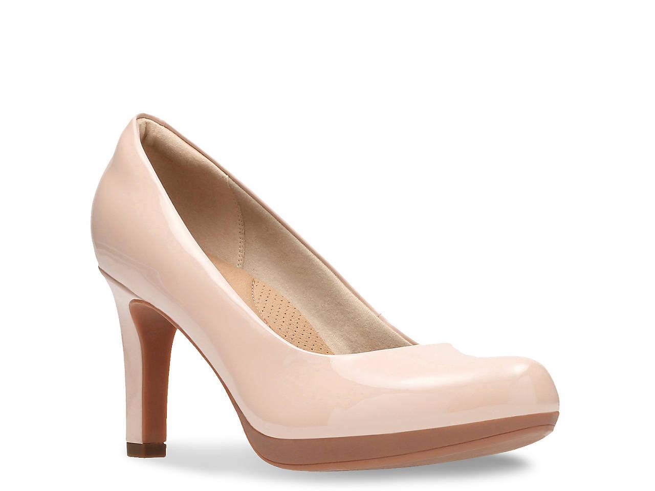 Clarks Adriel Viola Women's ... Ortholite High Heel Platform Pumps LMfT4